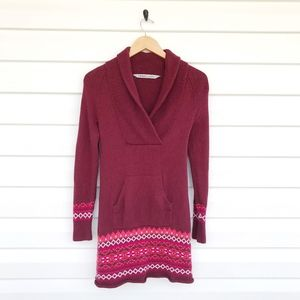 Athleta Sequoia Fair Isles Sweater Tunic